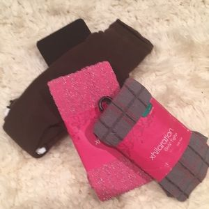 4 pair NEW Girl's tights